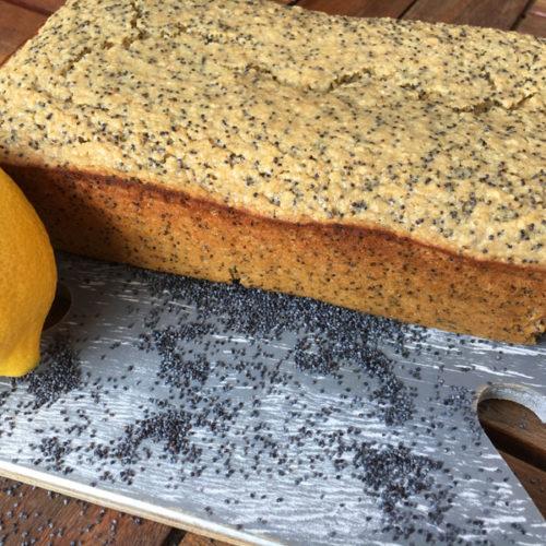 Lemon Poppyseed Bread | Refined Sugar Free